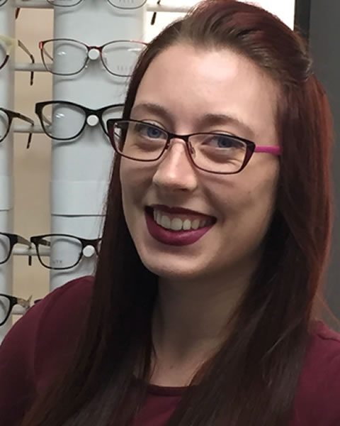 Karen, Almonte optometric assistant